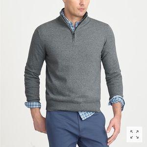 NWT J. Crew Half Zip Sweater